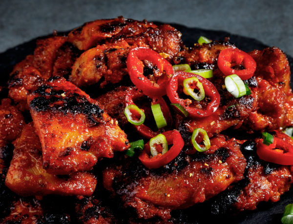 Spicy Chicken Cooked