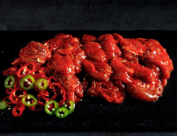 Spicy Chicken Raw