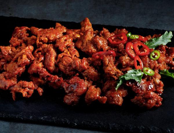 Spicy Pork Bulgogi Cooked