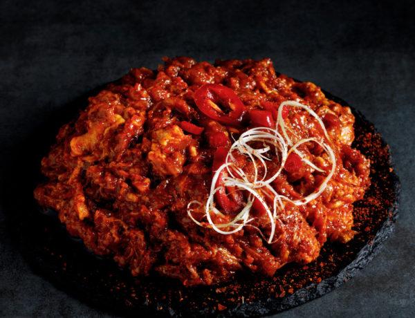 Spicy Pork Bulgogi Raw